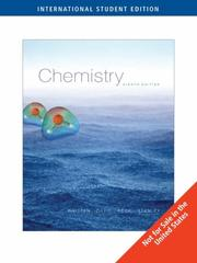 Cover of: General Chemistry (Ise)
