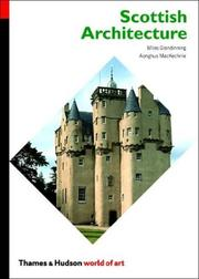 Cover of: Scottish Architecture (World of Art)