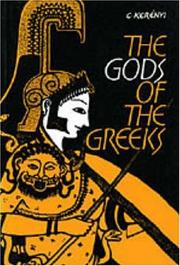 Cover of: Gods of the Greeks