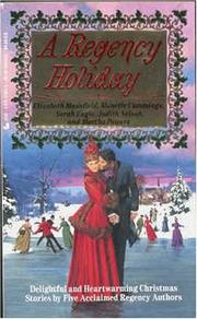 Cover of: Regency Holiday