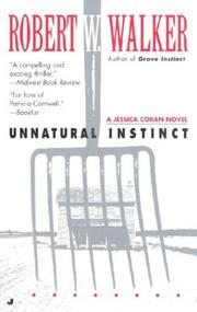 Cover of: Unnatural Instinct (Jessica Coran Novels)