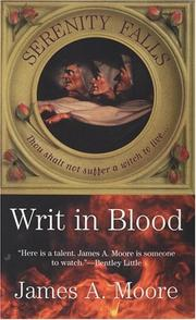 Cover of: Writ in Blood