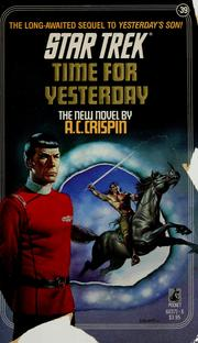 Cover of: Time for yesterday