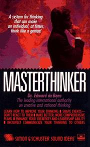 Cover of: Masterthinker: The Audio/Test Program/4 Cassettes and 3 Books