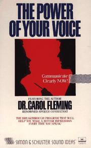 Cover of: Power of Your Voice