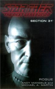 Cover of: Section 31:  Rogue (Star Trek The Next Generation)