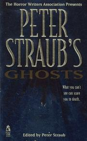 Cover of: PETER STRAUB'S GHOSTS (HORROW WRITERS OF AMERICA ) (Horror Writers Association Presents)