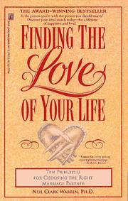 Cover of: Finding the love of your life
