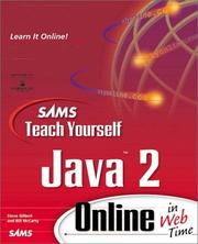 Cover of: Sams Teach Yourself Java 2 Online in Web Time (The Teach Yourself Series)