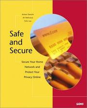 Cover of: Safe & Secure