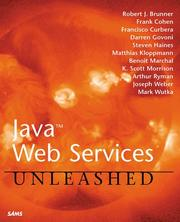 Cover of: Java Web Services Unleashed