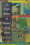 Cover of: A Concise History of America and Its People, Vol. 2
