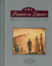 Cover of: The Pursuit of Liberty, Volume I (3rd Edition)
