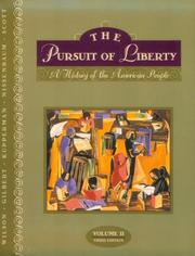 Cover of: The Pursuit of Liberty, Volume II (3rd Edition)