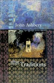 Cover of: Other Traditions (The Charles Eliot Norton Lectures)