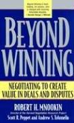 Cover of: Beyond Winning