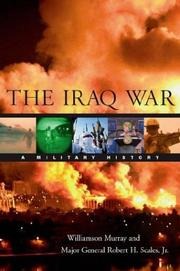 Cover of: The Iraq war