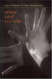 Cover of: Inside Deaf Culture