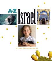 Cover of: Israel (A to Z)