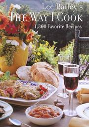 Cover of: The Way I Cook