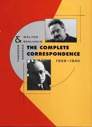 Cover of: The Complete Correspondence, 1928-1940
