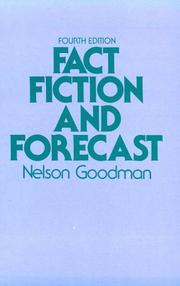 Cover of: Fact, Fiction, and Forecast, Fourth Edition