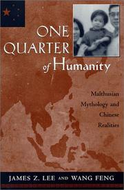 Cover of: One Quarter of Humanity