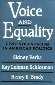 Cover of: Voice and Equality