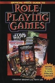 Cover of: Official Price Guide to Role Playing Games