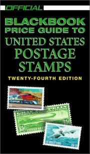 Cover of: The Official 2002 Blackbook Price Guide to U.S. Postage Stamps, 24th Edition (Official Blackbook Price Guide of United States Paper Money)