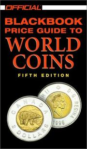 Cover of: The Official 2002 Blackbook Price Guide to World Coins, 5th edition (Official Price Guide to World Coins)