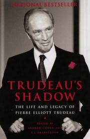 Cover of: Trudeau's shadow