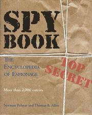 Cover of: Spy Book