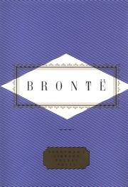 Cover of: Emily Bronte: Poems: Pocket Poets (Everyman's Library Pocket Poets)