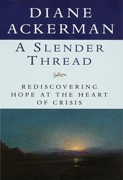 Cover of: Slender Thread:, A