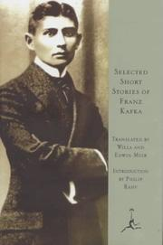 Cover of: Selected Short Stories of Franz Kafka