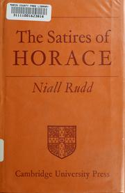 Cover of: The Satires of Horace (Campus)