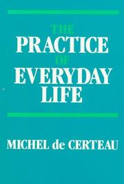 Cover of: The practice of everyday life