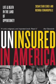 Cover of: Uninsured in America