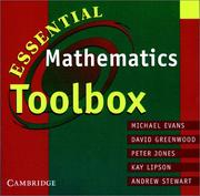 Cover of: Essential Mathematics Toolbox CD-ROM CD-ROM (Cambridge Secondary Maths (Australia))