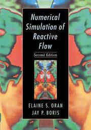 Cover of: Numerical Simulation of Reactive Flow