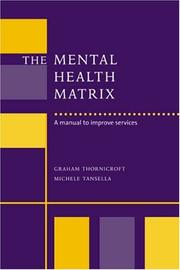 Cover of: The Mental Health Matrix