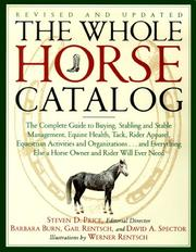 Cover of: The Whole Horse Catalog