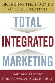 Cover of: Total Integrated Marketing