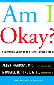 Cover of: Am I Okay?
