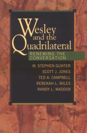 Cover of: Wesley and the Quadrilateral