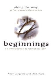 Cover of: Beginnings Along the Way