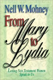 Cover of: From Mary to Lydia