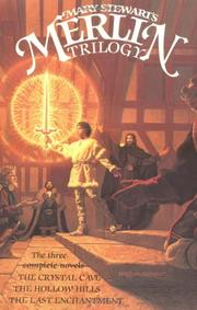 Cover of: Mary Stewart's Merlin trilogy