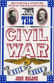 Cover of: Civil War Quiz Book